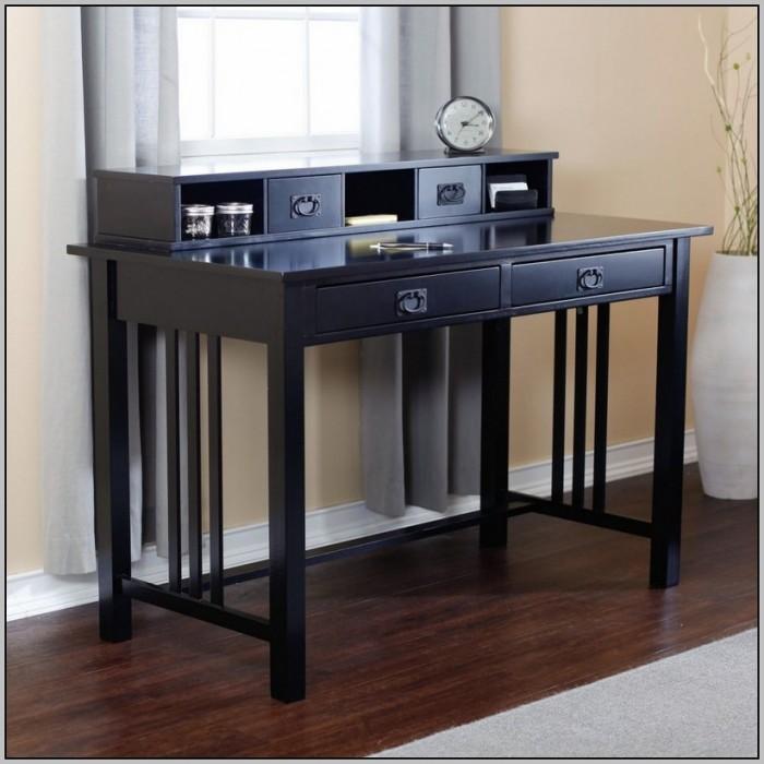 Large black writing desk home design ideas
