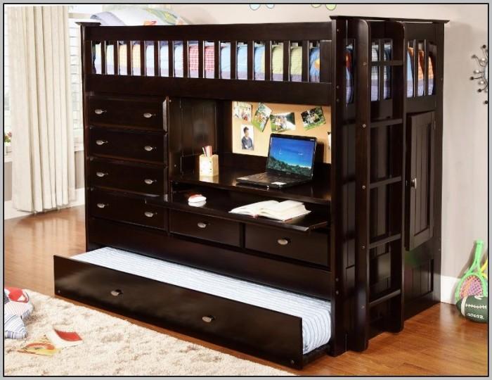 Bunk Bed Dresser Desk Combo