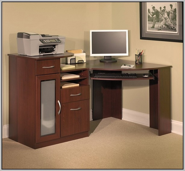 Bush Fairview Desk With Hutch Desk Home Design Ideas