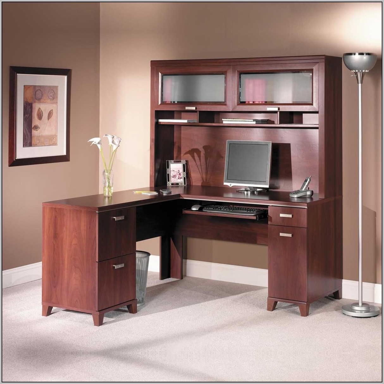Cherry wood desk with hutch desk home design ideas k6dzyl7nj219358 - Cherry wood computer desk with hutch ...