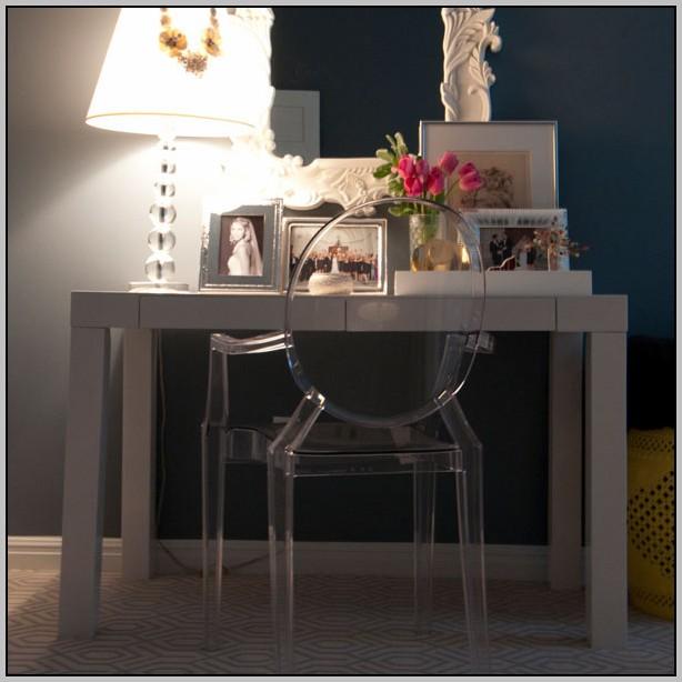 Clear Acrylic Desk Chair