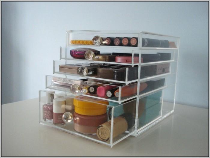 Clear Acrylic Desk Organizer