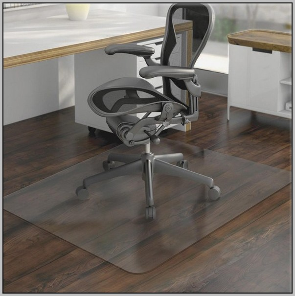 Clear Desk Chair Mat