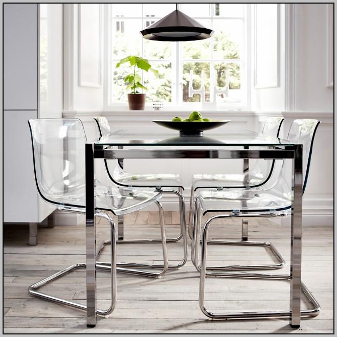 Clear Desk Chair Ikea Desk Home Design Ideas