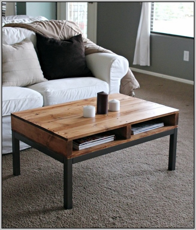 Coffee Table Desk Plans