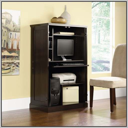 Computer Armoire Desk Ikea Desk Home Design Ideas