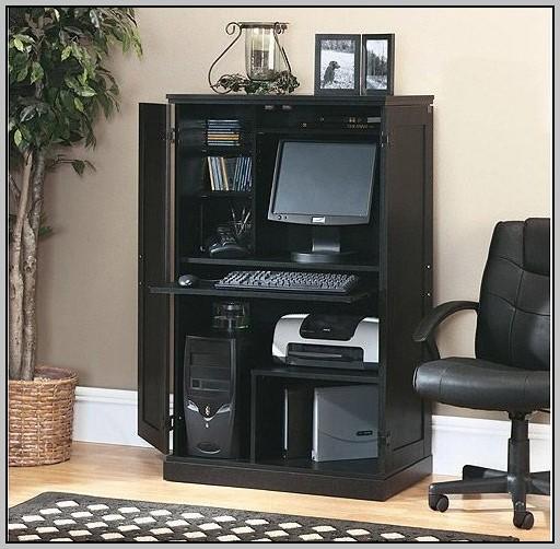 Sauder Computer Desk Armoire Desk Home Design Ideas