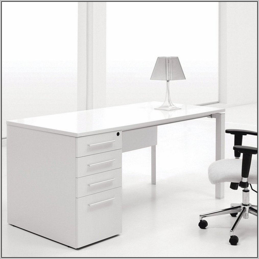 Contemporary Computer Desk White Desk Home Design