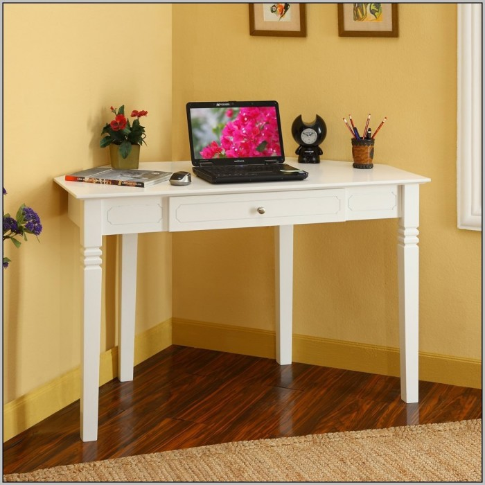 Corner Computer Desk With Drawers
