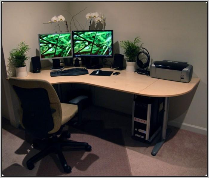 Corner Computer Desks For Small Spaces