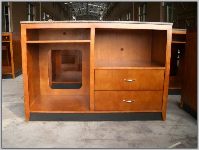 Corner Desk Dresser Combo