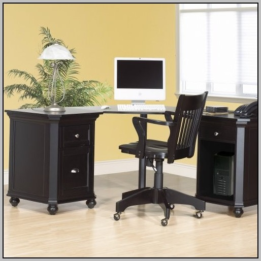 Corner Desk With File Drawer