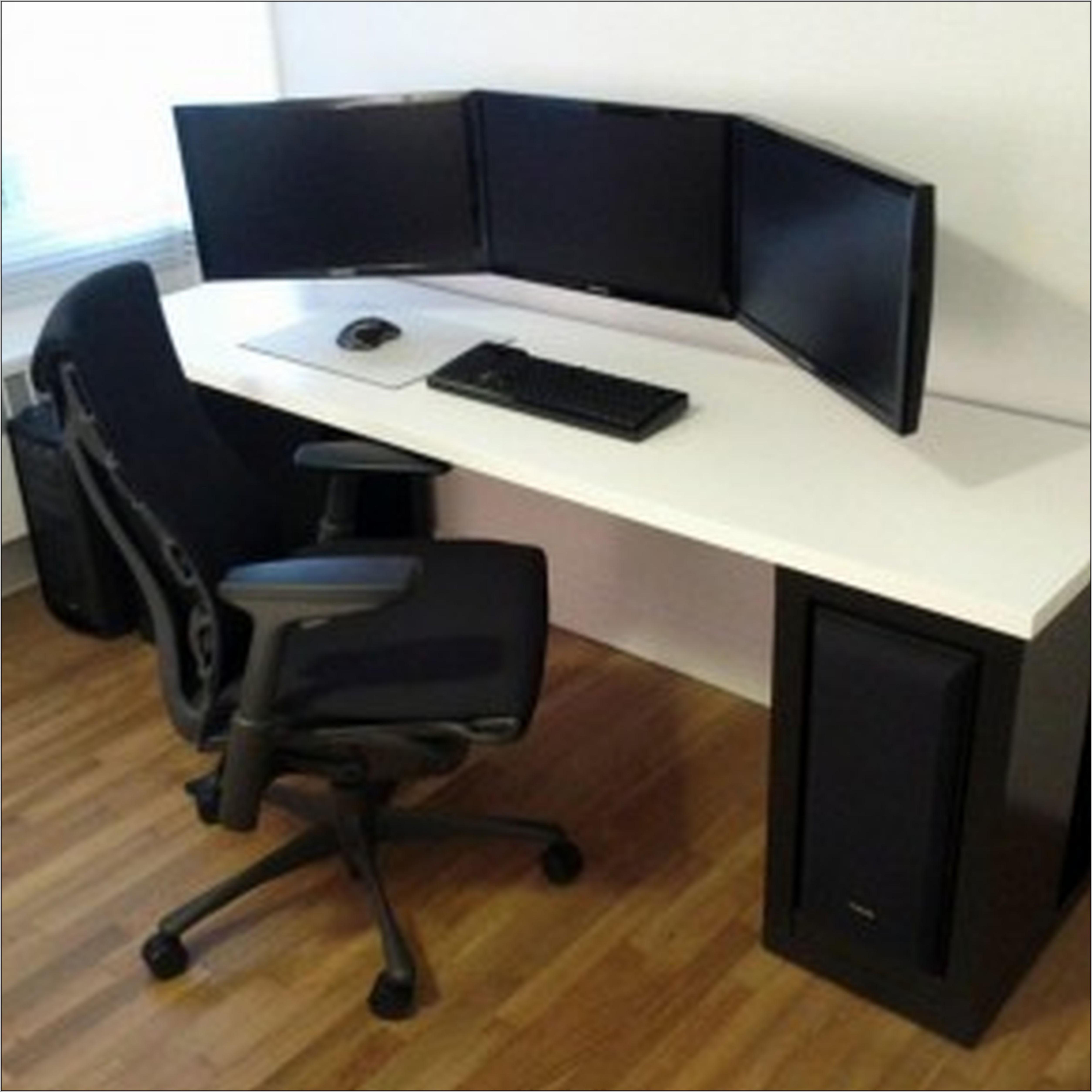 Corner office desk for two desk home design ideas for Home office desk ideas for two