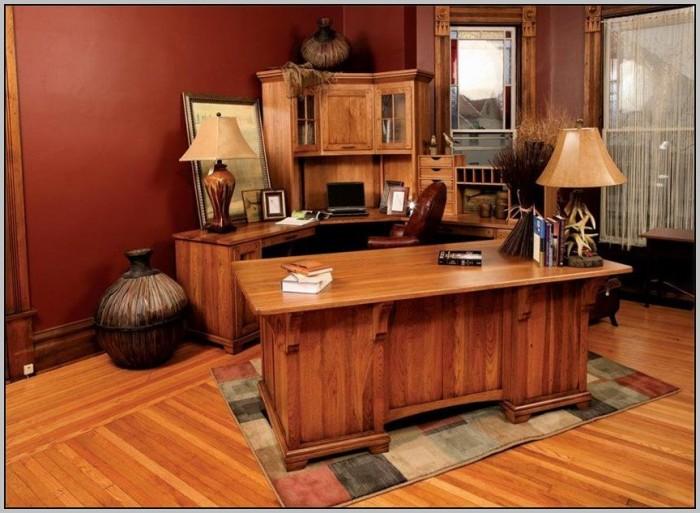 Corner Office Desk Plans
