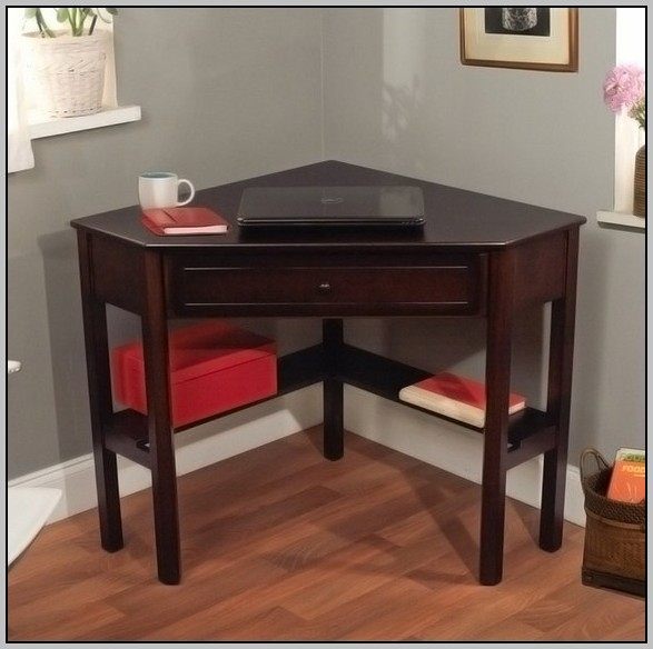 Corner Writing Desk Cherry