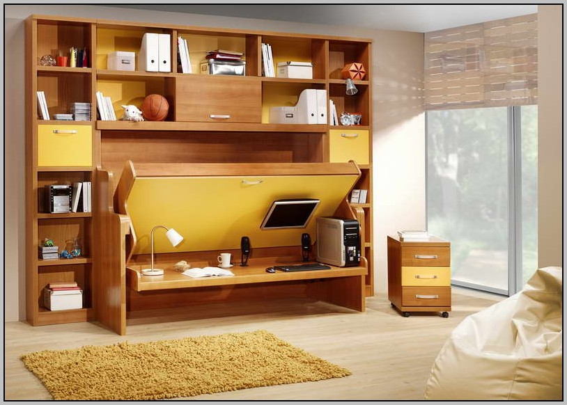 Desk Bed Combo Ikea