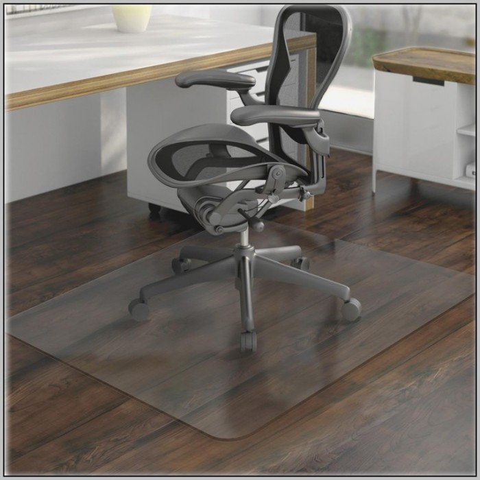 Desk Chair Mat Clear