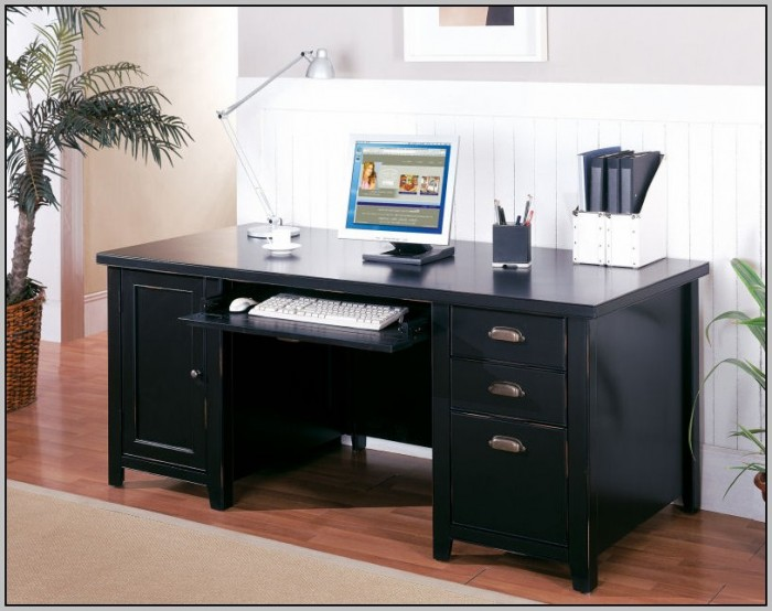 Double Pedestal Desks Home Office