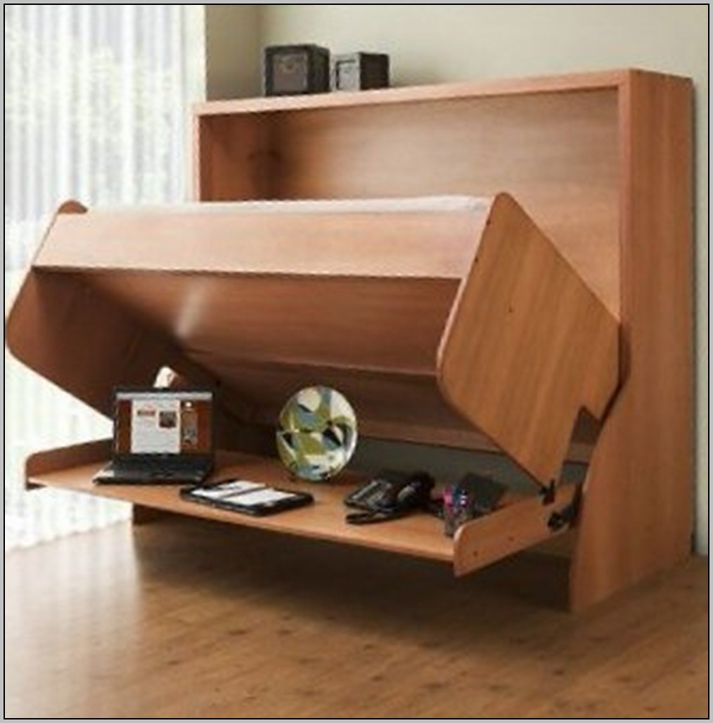 Folding wall desk bed download page home design ideas for Portable bed ideas