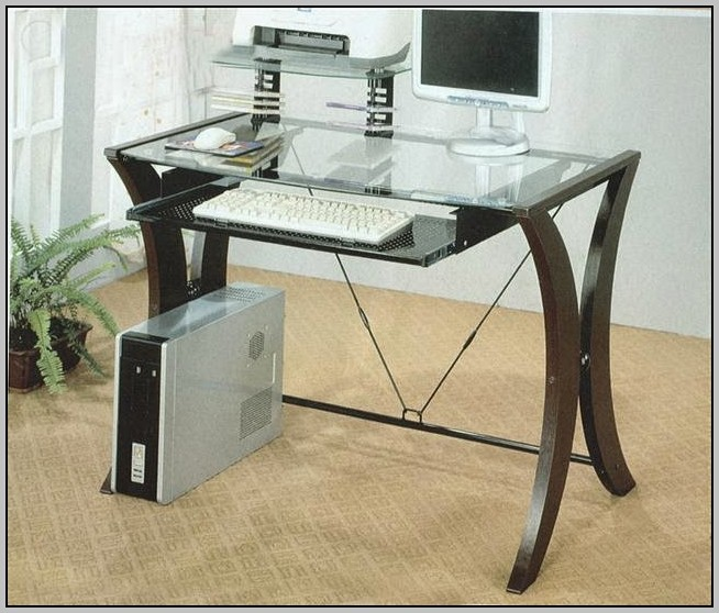 Glass Corner Desk Target