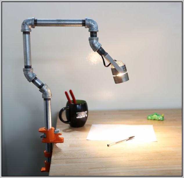 Halogen Desk Lamp Clamp On