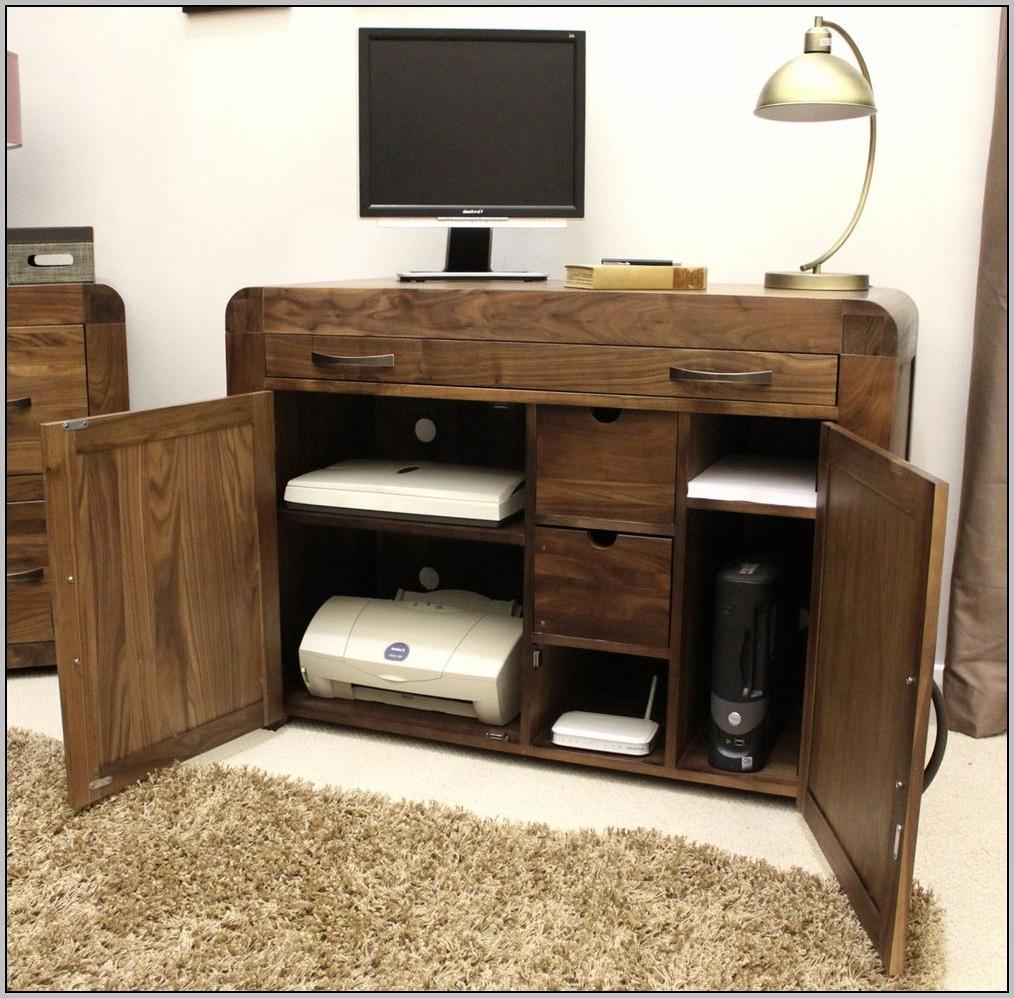 hidden puter desk uk desk home design ideas