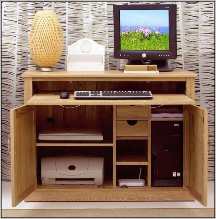 Hide Away Desk Furniture