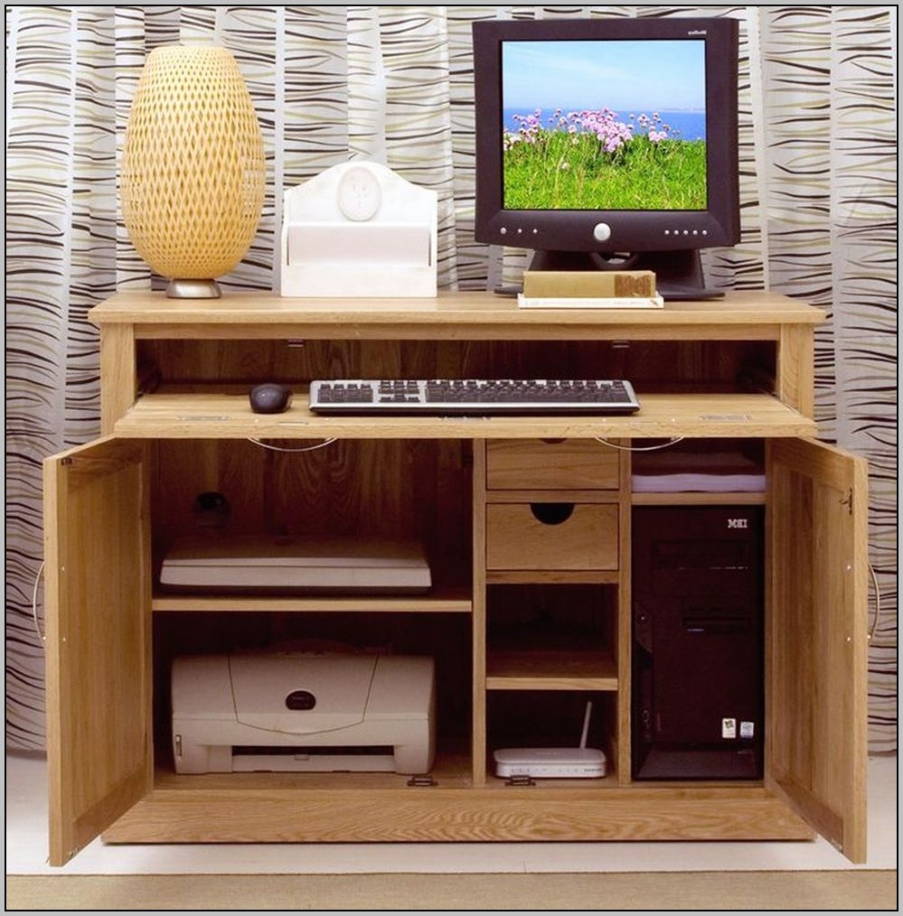 Hide Away Desk Furniture Desk Home Design Ideas