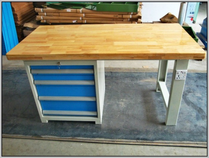 Butcher Block Workbench Bench Home Design Ideas