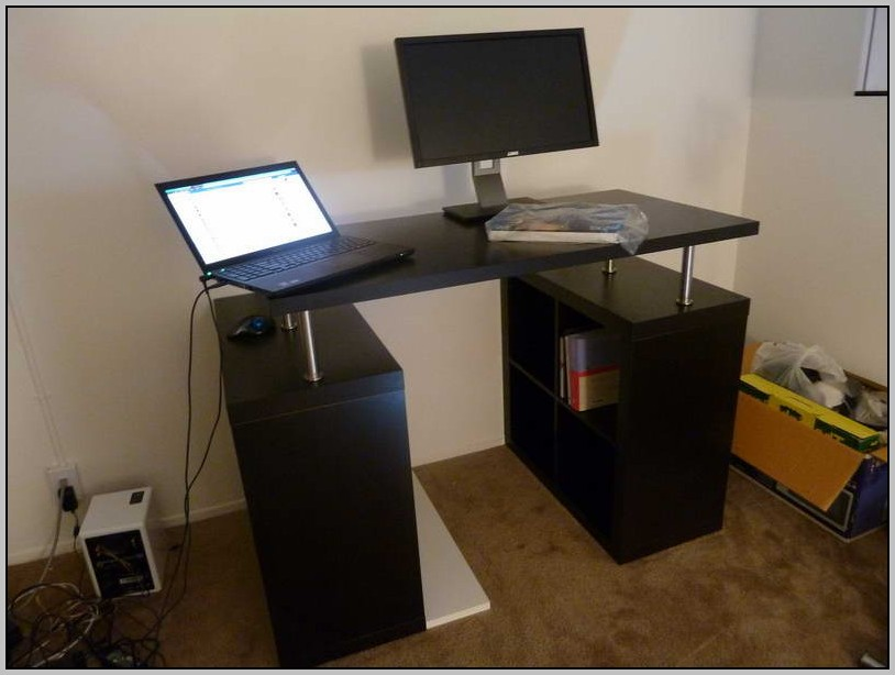 ikea standing desk diy download page home design ideas galleries home design ideas guide. Black Bedroom Furniture Sets. Home Design Ideas