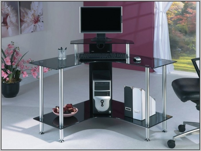 Kidney Shaped Desk Glass