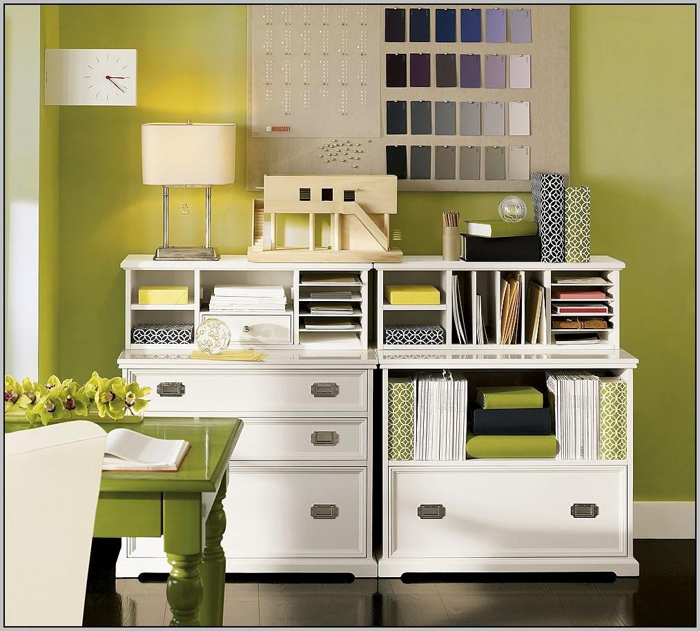 Kitchen Desk Organization Ideas
