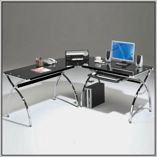 Glass corner desk office depot desk home design ideas xxpy3gmdby18593 - Office depot home office desk ...