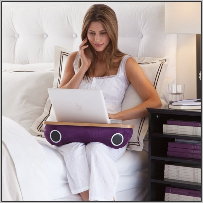 Laptop Pillow Desk Brookstone