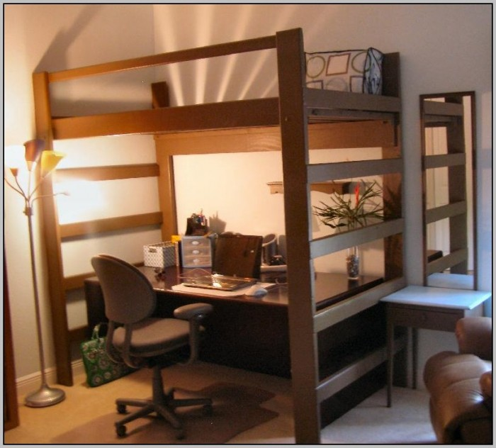 Twin Loft Bed With Desk And Futon Beds Home Design Ideas
