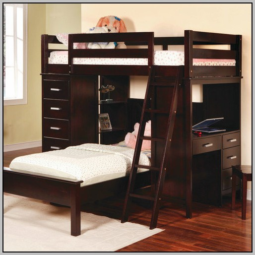 Twin Loft Bed With Desk Walmart Download Page Home