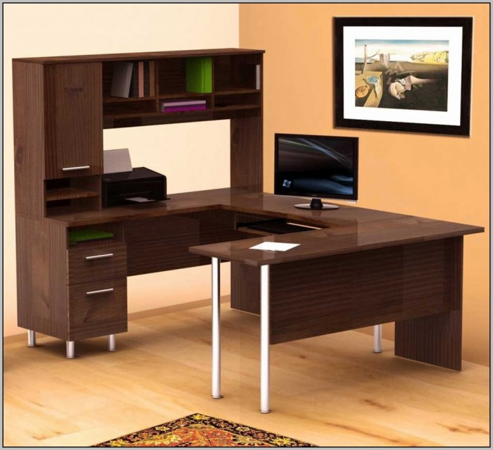 Modern L Shaped Office Desk