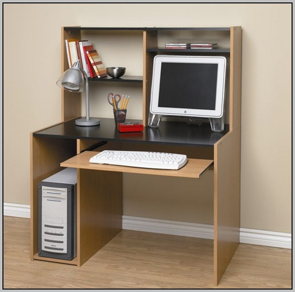 Oak Computer Desks With Hutch