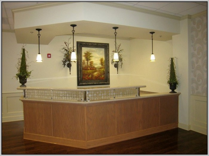 Office Reception Desk Ideas