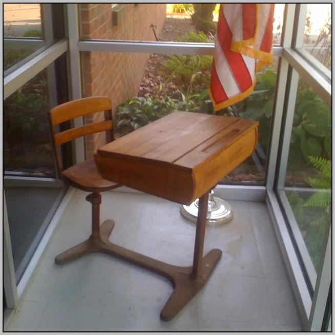 Old School Desks Refinished