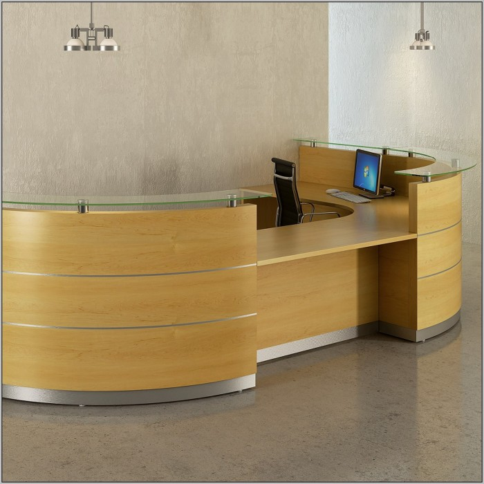 Reception Desk Layout Ideas