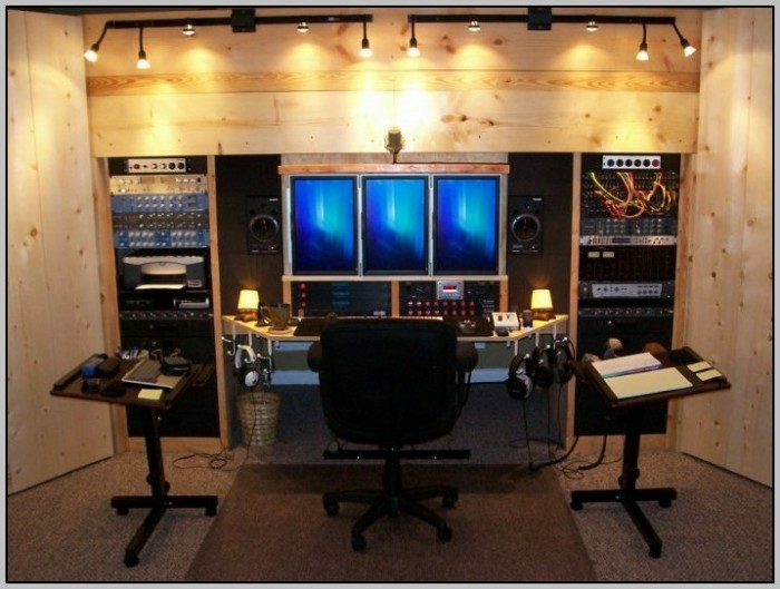 Recording Studio Desk Design