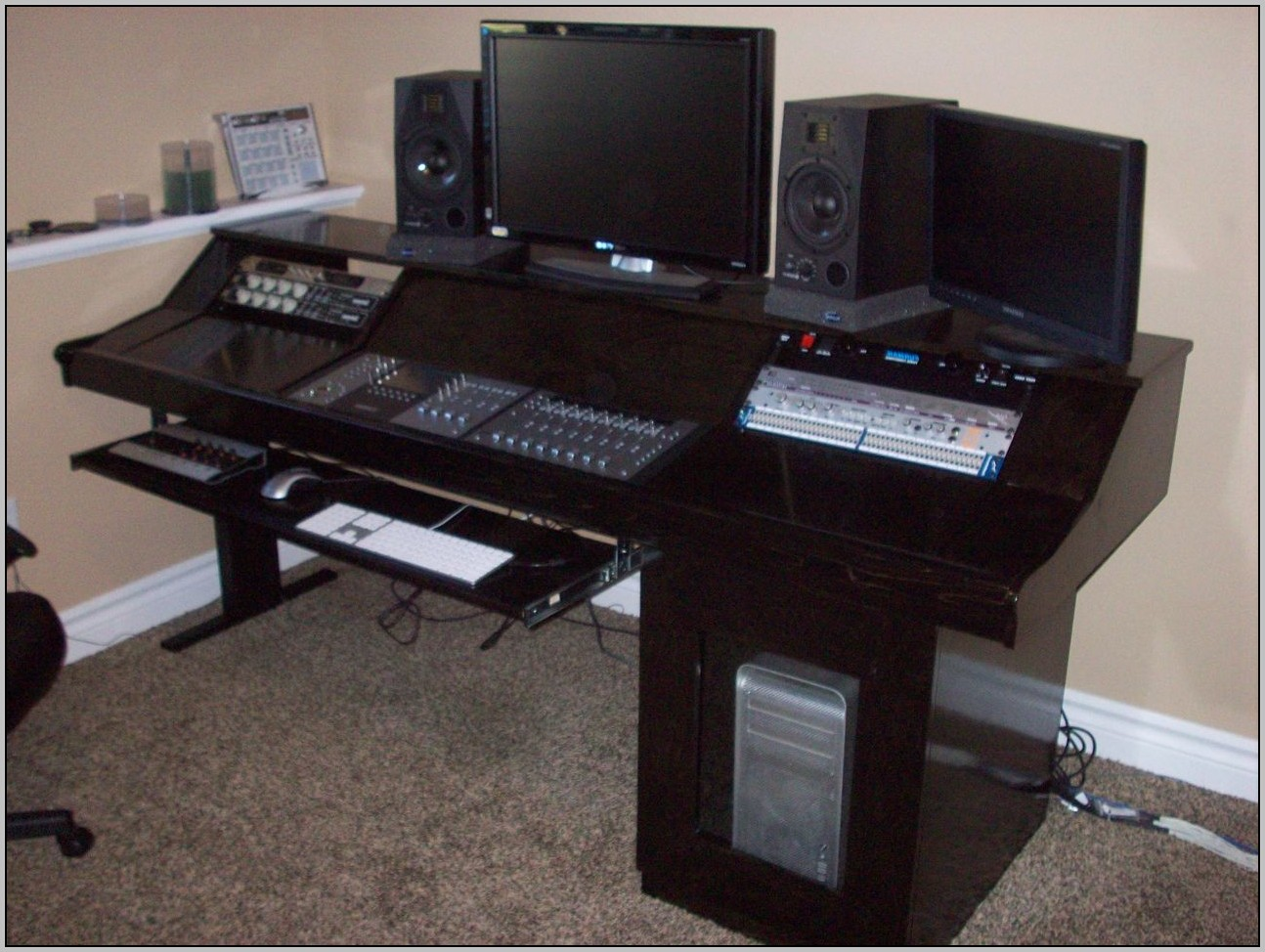 Recording Studio Desk Plans Desk Home Design Ideas
