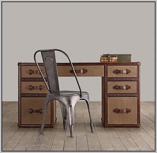 Leather Desk Blotter Restoration Hardware Desk Home