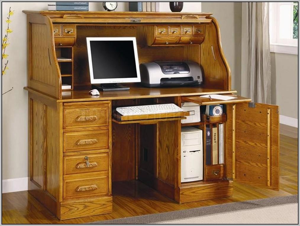 Best Home Computer Desk: Roll Top Computer Desks For Home