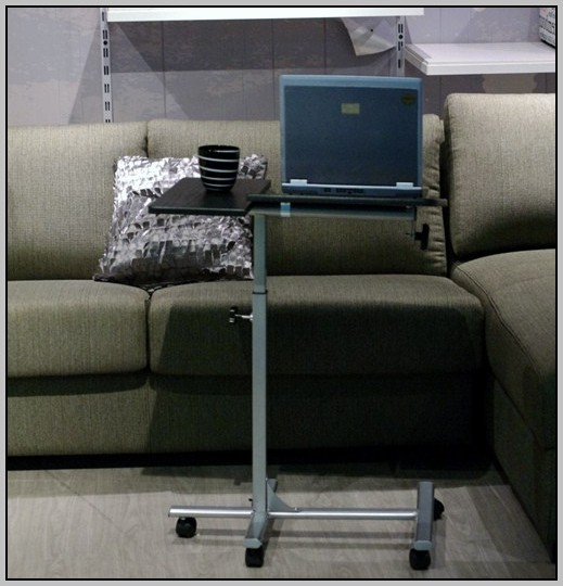 Rolling Laptop Desk Cart