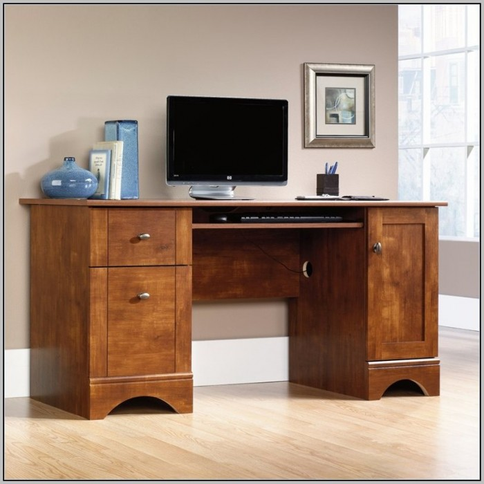 Sauder Edge Water Computer Desk Brown