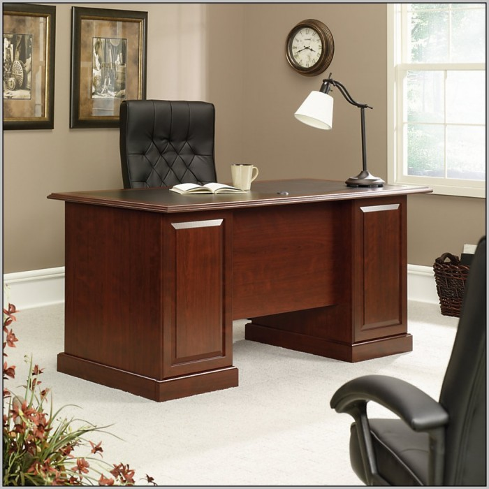 Sauder Executive Desk Office Depot