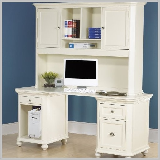 Desk With Hutch White Desk Home Design Ideas