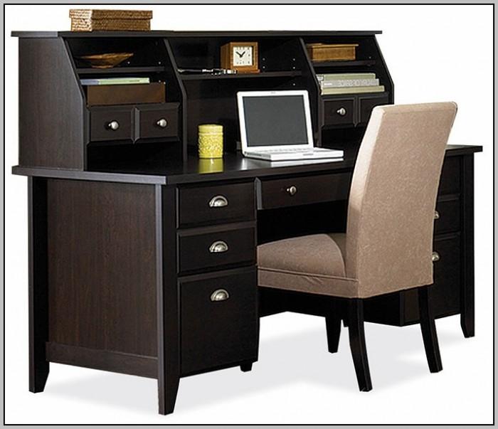 Sauder Shoal Creek Desk Black